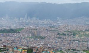 Bogotá, Colombia - Panoramica