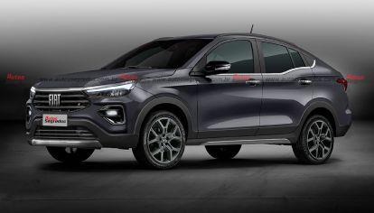 ¿El Proyecto 376 será igual al SUV Fiat Argo pero con líneas coupé?