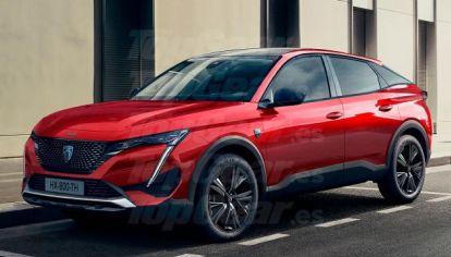Peugeot lanzará el 308 Cross, un nuevo crossover coupé
