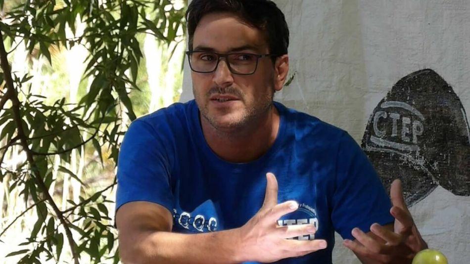Gildo Onorato, dirigente del Movimiento Evita 20210511