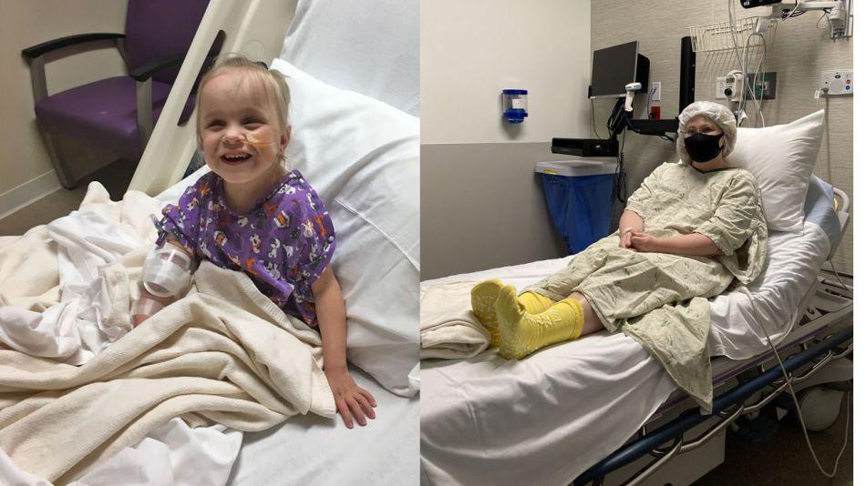 La docente Robin Mach donó su riñón a su alumna de 5 años 20210511