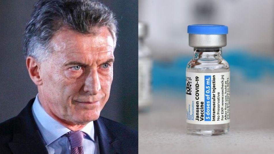Macri Johnson Vacuna