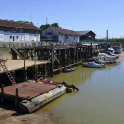El 22 de mayo de 2020 el río Paraná llegó a su bajante histórica en Rosario.