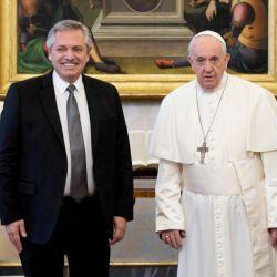 El Papa Francisco recibirá a Alberto Fernández