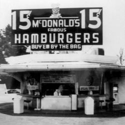 Primer McDonald 's en California.
