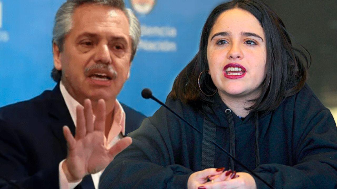 Alberto Fernández - Ofelia Fernández | Foto:cedoc
