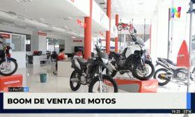 Boom de venta de motos