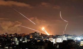 gaza israel rockets