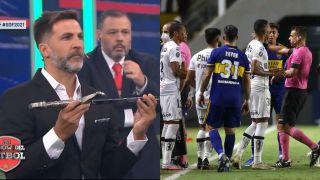 Toti Pasman Boca árbitros 120521