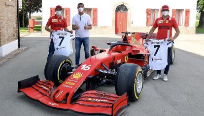 Cristiano Ronaldo visitó la fábrica de Ferrari y de paso compró una