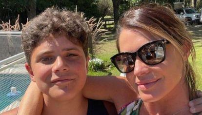 Pamela David reveló la fuerte frase que le dijo su hijo cuando tenía 8 años