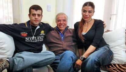 Reapareció Carlos Nair Menem y habló de la muerte de su padre