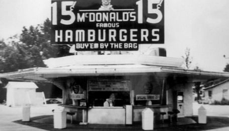 Primer McDonald 's en California.