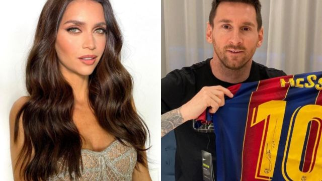 Zaira Nara y Leo Messi