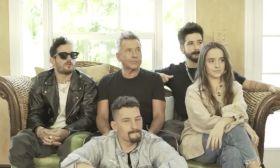 Ricardo Montaner y su familia