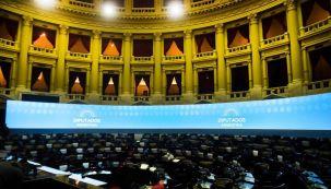 Sergio Massa y el recinto de la cámara de Diputados 20210513