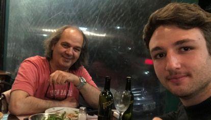 Guillermo Rossi despidió a su hijo Franco 20210513