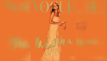 Máxima en la tapa de Vogue