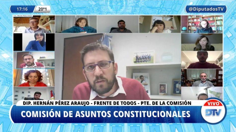 Comisión de Asuntos Constitucionales 20210513