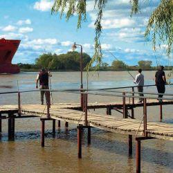 Muelle del Club de Pesca de Lima.