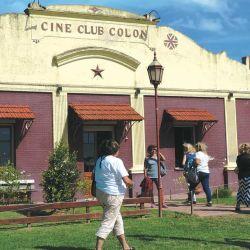 El cine rural, en La Paz.