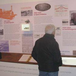 Museo ferroviario en Vagues.