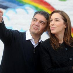 Vidal y Jorge Macri