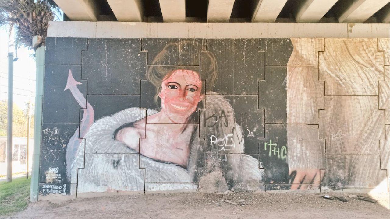 María Julia Alsogaray: La historia detrás de mural de la icónica tapa de Noticias | Foto:Cedoc