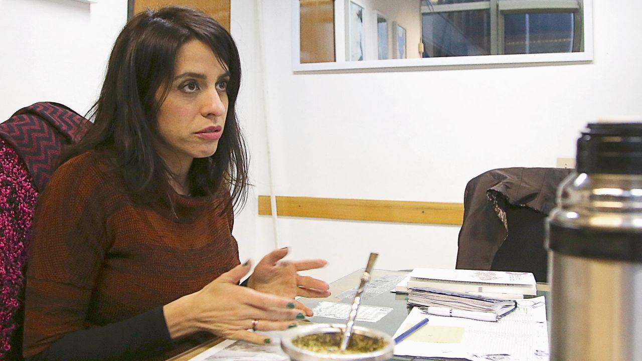 Mara Pérez Reynoso denunció a la titular del Inadi, Victoria Donda | Foto:Cedoc.