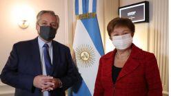 Alberto Fernández y Kristalina Georgieva