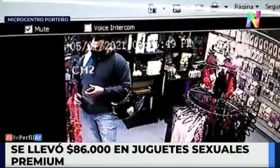 Robo en un sexshop del microcentro