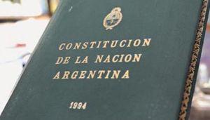 Reforma de la Consitución de 1994 20210514