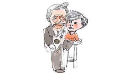 Afinando. Alberto Fernández y Kristalina Georgieva.