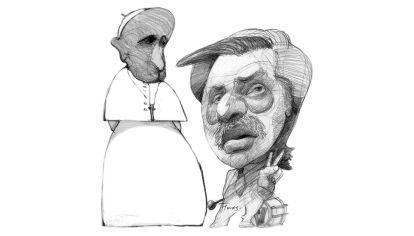Fratelli e sorelle. Papa Francisco y AlbertoFernández.