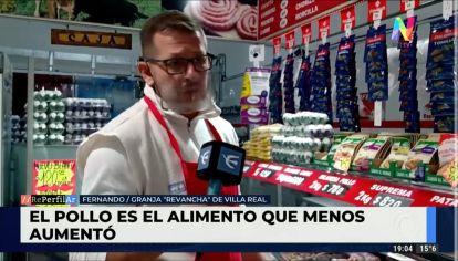 Los argentinos prefieren consumir pollo