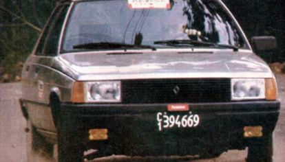 Así probábamos el Renault 9 TSE