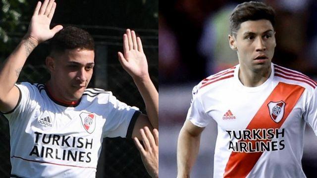Santiago y Gonzalo Montiel