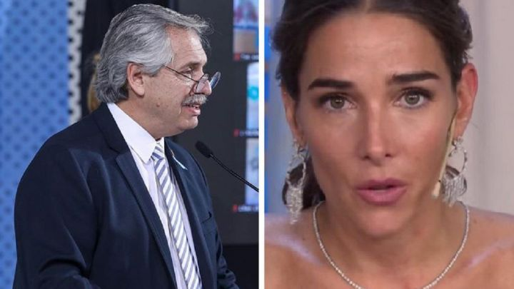 """Juana Viale habló de Alberto Fernández y Fabiola Yáñez: """"Me gustaría..."""""""