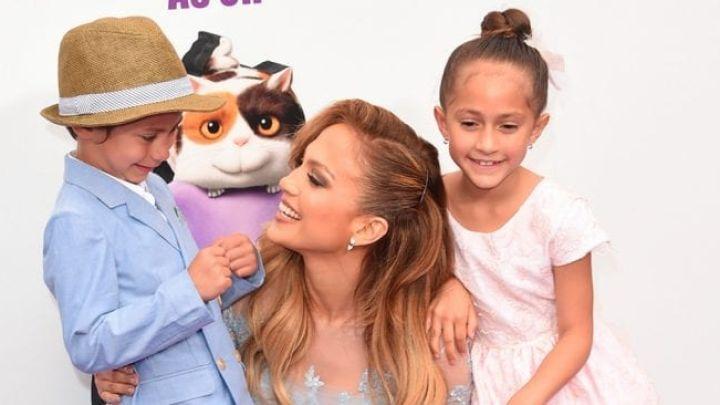 Apareció Jennifer Lopez y disfrutó de una salida familiar con sus hijos