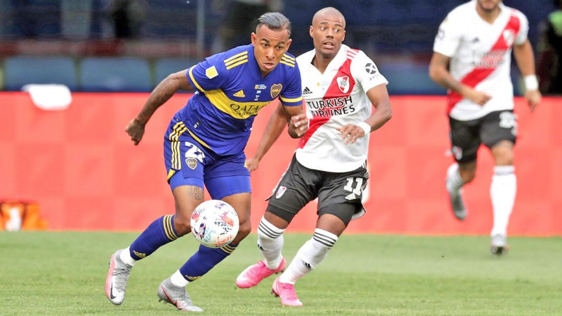 Boca and River face-off this. Sunday in another Superclásico.