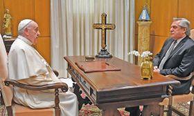 pope francis alberto fernandez