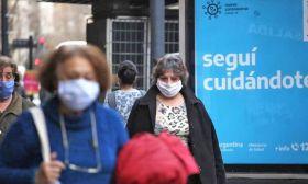 streets buenos aires coronavirus covid stock