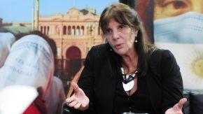 María Teresa García, en la entrevista con Jorge Fontevecchia.