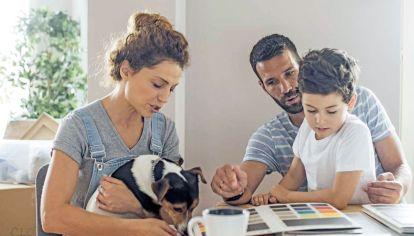 Unión. Las familias son mallas firmes que sostienen. Son lazos que perduran, más flojo o no.