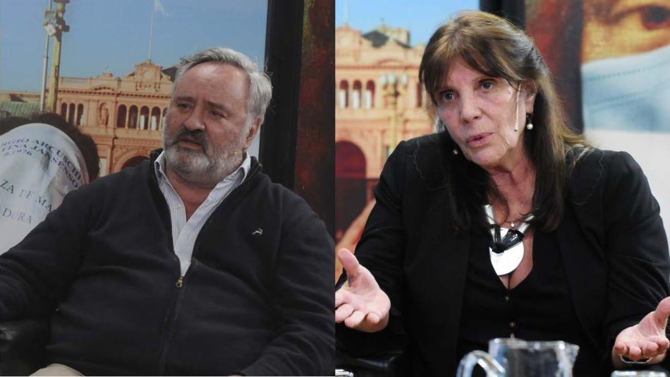 De Vidal a Kicillof. Ministros de Gobierno bonaerenses: Joaquín de la Torre y María Teresa García.