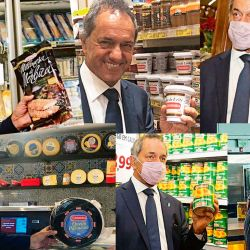Daniel Scioli, el embajador chivero | Foto:cedoc