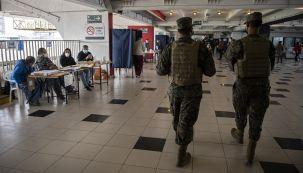 Un centro de votación en Santiago de Chile.