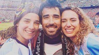 Juana Viale, Nacho Viale y Victoria Cesperes