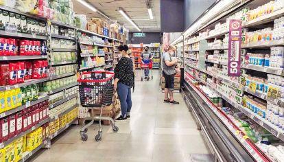Góndolas al rojo vivo. Los alimentos aumentaron 18,7% en el primer cuatrimestre.