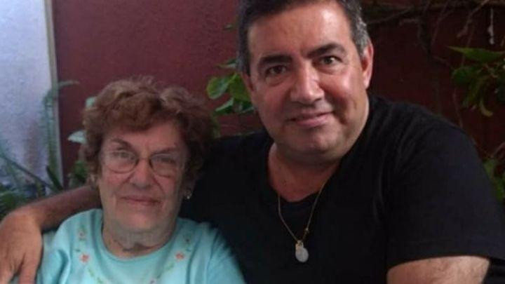 """El dolor de Diego Pérez tras la muerte de su madre: """"Te vamos a recordar siempre"""""""